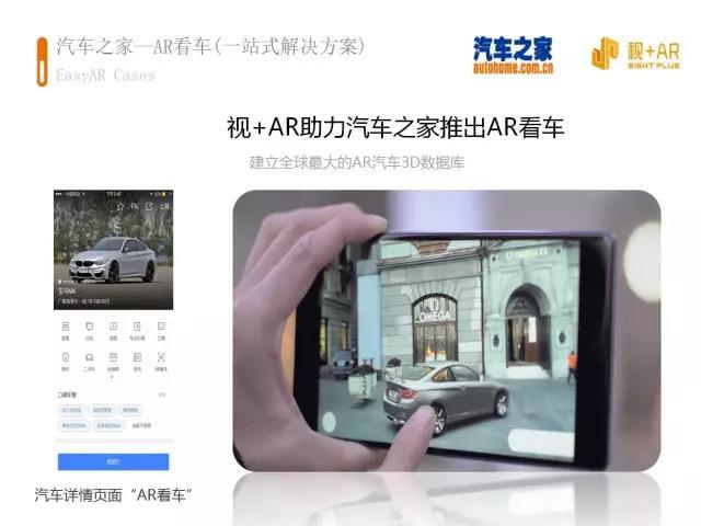 AR看车,AR技术,AR应用,AR解决方案,增强现实,AR,视+AR